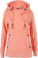 Damen Fleece Pullover mit Kapuze
