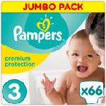 Windeln premium protection, Größe 3 Midi, 5-9 kg, Jumbo Pack