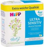 HiPP Babysanft Feuchttücher Ultra Sensitiv 4er Vorteilspack