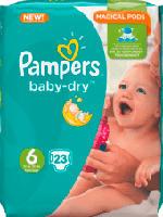 Windeln Baby-Dry, Größe 6 Extra Large, 15+ kg