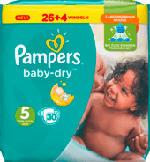 Windeln Baby Dry, Größe 5 Junior, 11-23 kg, Sparpack