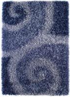 ROLLER Teppich Billings - blau - Hochflor - 120x180 cm
