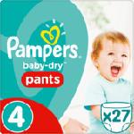 Pants Baby-Dry, Größe 4 Maxi, 8-15 kg