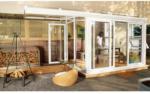 Terrassenüberdachung Sol 15000, PC Dach links, opal, weiß