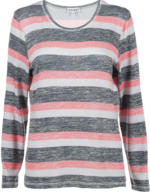 Damen Sweatshirt in Strickoptik
