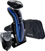 Herrenrasierer - Philips RQ 1187/16 SensoTouch 2D Series 7000 Rasierer Blau (DualPrecision-System, Super Lift & Cut-Technologie)