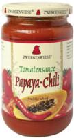 Zwergenwiese Tomatensauce Papaya-Chili 350g Glas