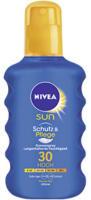NIVEA Sun Sonnenspray LSF30, jede 200-ml-Flasche