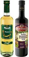 Mazzetti oder Bertolli Essig, Aceto Balsamico di Modena oder Bianco, jede 500-ml-Flasche