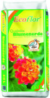 ECOFLOR Qualitäts-Blumenerde