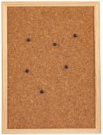 Pinnwand Kork 60x80 cm