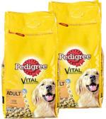 Pedigree Hunde-Trockennahrung versch. Sorten, jede 7,5/6,5-kg-Packung