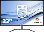 PC Monitore 22,3 bis 26 Zoll - Philips 323E7QDAB 31.5 Zoll Full-HD Monitor (1x VGA, 1x DVI-D, 1x HDMI Kanäle, 5 ms (Grau zu Grau) Reaktionszeit)