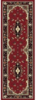 Teppich Isfahan ca. 80 x 250 cm rot