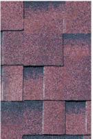 Karibu Dachschindeln, asymetrisch, braun, geflammt, 3 m²