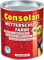 Wetterschutzfarbe schwedenrot, 2,5L