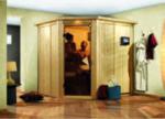 Karibu Plug & Play Sauna Lilja