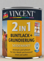 Vincent 2in1 Buntlack