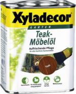 Xyladecor Teak-Möbelöl, 750ml, teak
