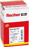 Fischer Nageldübel N 6x40 /7 P mit Senkkopf gvz