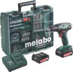 Metabo Akkuschrauber BS 14.4 Set inkl. Werkstattkoffer