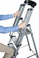Krause Stufen-Stehleiter Sepuro inkl. Handlauf, 7 Stufen