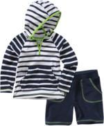 Jungen-Hoodie und Shorts