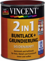 Vincent 2in1 Buntlack purpurrot