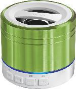 Bluetooth Docking-Stations - Peaq PPA20BT Bluetooth Lautsprecher Grün