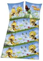 "Microfaser-Bettwäsche ""Biene Maja"""