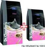 Dr.Clauder's Kitten SUPER PREMIUM, 2 kg Beutel + 400 g gratis!