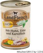 LandFleisch DOG JUNIOR, 400g Dose