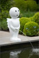 Ubbink Wasserspeier Boy V, klein, weiß