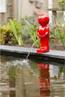 Ubbink Wasserspeier Boy VII, klein, rot