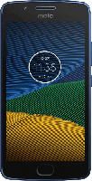 Smartphones - Lenovo Moto G5 16 GB Sapphire Blue Dual SIM