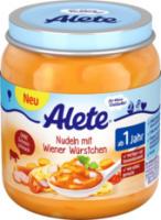 Kindermenü Nudeln mit Wiener Würstchen ab 1 Jahr