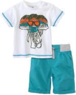 Baby-T-Shirt mit Shorts