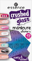 nailart crushed glass manicure stickers multi 01