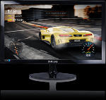 Notebook, Tablet & PC - Samsung LS24D330HSX/EN 24 Zoll Full-HD Monitor (1x HDMI, 1x D-Sub 15-polig Kanäle, 1 ms Reaktionszeit)