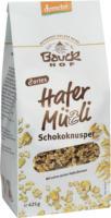 "Hafermüsli ""Schokoknusper"""