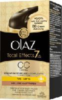 getönte Tagescreme Total Effects CC Cream für hellere Hauttypen