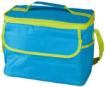 Kühltasche blau/limettengrün - 32x20x25 cm - Mica