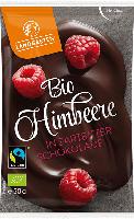 """Schoko-Snack """"Himbeere in Zartbitter-Schokolade"""""""