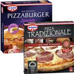 Dr. Oetker Pizza Tradizionale Salame Romano 370 g oder Pizza Burger Speziale * * * 380 g, geforen, jede Packung und weitere Sorten