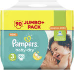 Pampers Windeln baby-dry, active-fit, versch. Sorten,  jede Jumbo+ Packung