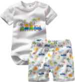 Newborn-Body und Shorts