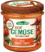 """Brotaufstrich """"Hofgemüse Susi`s scharfe Tomate"""""""