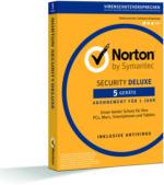 Norton Security Deluxe v3.0, 1 Jahr 5 Geräte, ESD