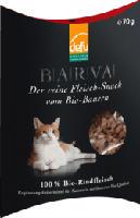 Snack für Katzen, BARVA Bio-Rindfleisch