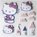 3D-Sticker Hello Kitty